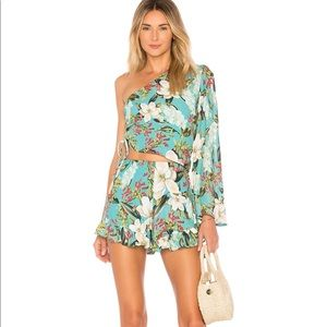 Lovers and Friends Mayer Romper Bermuda Floral